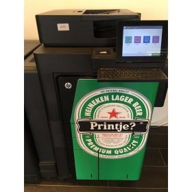 Wrappen van de printer in Uw huisstijl