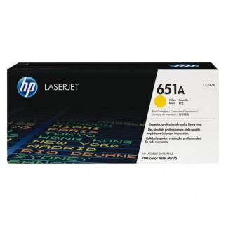 HP 651A (CE342A) toner geel (origineel)