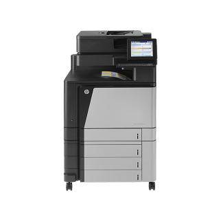 CLJ Flow MFP M880z MFP (A2W75A) + HP Garantie/Carepack t/m 2-2021